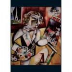 Puzzle  Piatnik-5496 Marc Chagall - Autoportrait à Sept Doigts