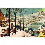 Puzzle  Piatnik-5523 Brueghel : Les chasseurs