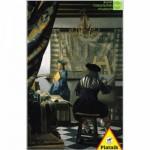 Puzzle  Piatnik-5640 Vermeer : Le peintre et son modèle