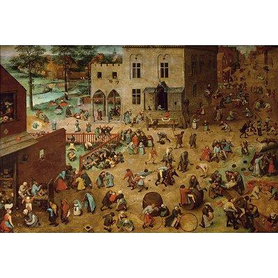 Puzzle Piatnik-5677 Brueghel : Jeux d'enfant