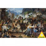 Puzzle  Piatnik-5695 Andreas Hofer en guerre au Tyrol