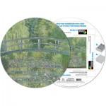 Pigment-and-Hue-RMONET-41207 Puzzle Rond déjà assemblé - Claude Monet
