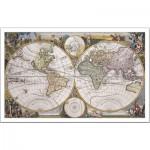 Pintoo-H1049 Puzzle en Plastique - Carte nautique Antique
