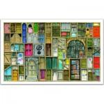 Pintoo-H1201 Puzzle en Plastique - Portes fermées
