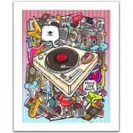 Pintoo-H1527 Puzzle en Plastique - Rock Style