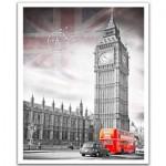 Pintoo-H1538 Puzzle en Plastique - Big Ben, England