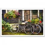 Pintoo-H1572 Puzzle en Plastique - Pays-Bas, Amsterdam : Vélos