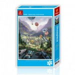 Pintoo-H1636 Puzzle en Plastique - Up Up and Away
