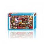 Pintoo-H1656 Puzzle en Plastique - Le Labyrinthe de la Vie