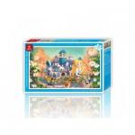 Pintoo-H1703 Puzzle en Plastique - Alice au Pays des Merveilles