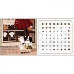 Puzzle  Pintoo-H1713 Calendrier Showpiece - Half