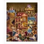Pintoo-H1742 Puzzle en Plastique - Alice au Pays des Merveilles