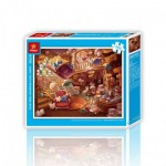 Pintoo-H1743 Puzzle en Plastique - Alice au Pays des Merveilles