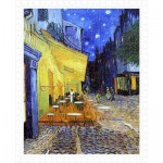 Pintoo-H1762 Puzzle en Plastique - Van Gogh Vincent - Cafe Terrace at Night