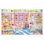 Pintoo-H1793 Puzzle en Plastique - Cakeshop