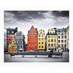 Pintoo-H1937 Puzzle en Plastique - The Old Town of Stockholm, Sweden