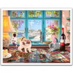 Pintoo-H1986 Puzzle en Plastique - Steve Read - Puzzlers Desk