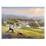 Pintoo-H2015 Puzzle en Plastique - John O'Brien - Irish Landscape