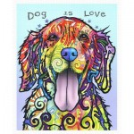 Pintoo-H2045 Puzzle en Plastique - Dean Russo - Dog Is Love
