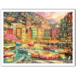 Pintoo-H2057 Puzzle en Plastique - Chuck Pinson - Vibrance of Italy