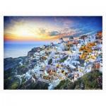 Pintoo-H2073 Puzzle en Plastique - Beautiful Sunset of Greece