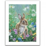 Pintoo-H2082 Puzzle en Plastique - Abraham Hunter - Spring Bunny