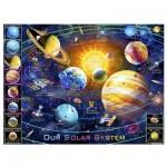 Pintoo-H2133 Puzzle en Plastique - Adrian Chesterman - Solar System