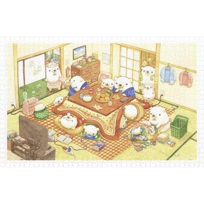 Puzzle Pintoo-H2222 ちっぷ - Kotatsu