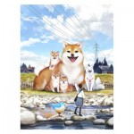 Puzzle  Pintoo-H2307 Monokubo - A Sunny Day Stroll