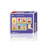 Pintoo-M1281 8 Puzzles 40 Pièces en Plastique - Showpiece - Lovely Shops