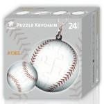 Porte-clé Puzzle 3D - Balle de Base-Ball