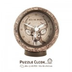 Puzzle 3D Clock - Into the Woods