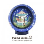 Puzzle 3D Clock - Young Heart
