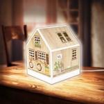 Puzzle 3D - House Lantern - Little Wooden Cabin
