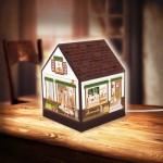Puzzle 3D - House Lantern - Lovely Cafe Shop