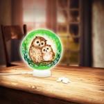 Puzzle 3D - Sphere Light - Hiboux et Chatons