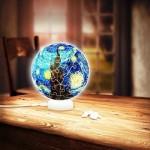 Puzzle 3D - Sphere Light - Van Gogh