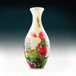 Puzzle 3D Vase - Carp with Lotus