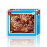 Puzzle en Plastique - Alice au Pays des Merveilles