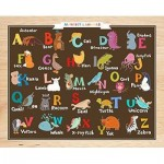 Puzzle en Plastique - Alphabet and Animals (en anglais)