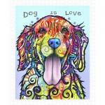 Puzzle en Plastique - Dean Russo - Dog Is Love