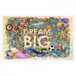 Puzzle en Plastique - Dream Big