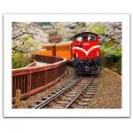 Puzzle en Plastique - Forest Train in Alishan National Park, Taiwan
