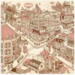 Puzzle en Plastique - Happiness Town