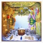 Puzzle en Plastique - Jacek Yerka - Four Seasons