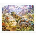 Puzzle en Plastique - Jan Patrik Krasny - Dinosaurs