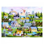 Puzzle en Plastique - Jane Wooster Scott - Somewhere Over the Rainbow