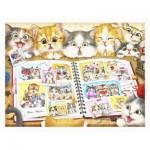 Puzzle en Plastique - Kayomi - Kitten Memory Album