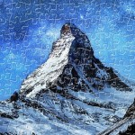 Puzzle en Plastique - Light of Zermatt, Switzerland