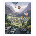 Puzzle en Plastique - Michael Young - Up Up and Away